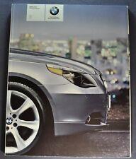 2005 BMW 5-Series Sedan 80pg Catalog Brochure 525i 530i 545i Excellent Original