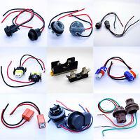 ALLE LAMPENFASSUNG - Fassung Stecker Kabel T5 T10 HB3 HB4 H7 H8 H11 7440 7443