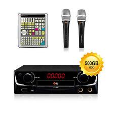TJ Taijin Media Car and Home Karaoke TKR-360CK + mic 2 for overseas Korean