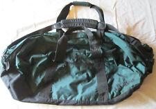 """L.L. Bean XXL Nylon Duffle Bag Outdoors Streetwear 33x14x16"""" Dark Green Travel"""