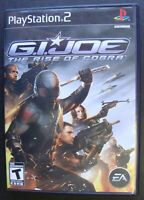 G.I. JOE THE RISE OF COBRA PS2 SONY PLAYSTATION 2 GAME GI JOE