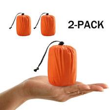 2* Emergency Sleeping Bag Thermal Waterproof Outdoor Camping Pad Mat Accessory