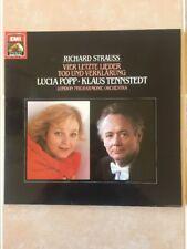 Strauss: Four Last Songs/Death & Transfiguration LP - Popp/Tennstedt - MINT COND