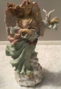 Vintage San Francisco Music Box Angel Figurine - Retired
