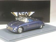 Klasse: Neo Scale Models Porsche Waibel Special Sport Cabrio 1948 in 1:43 in OVP