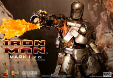 RARE!! SIDESHOW EXCLUSIVE!! Hot Toys MMS 168 Iron Man Mark I (2.0) MK1 Brand New