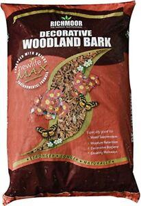 Bark Chippings Decorative Woodland Bark 50L - Borders - Pathways - Mulch