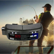 Fishing Bait Tackle Box Waist Carrier Lure Reel Holder Container Bag Case