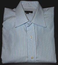 ROBERT TALBOTT MULTI COLOR STRIPED L/S FINE QUALITY DRESS SHIRT. RT5293-6A8