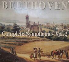 BEETHOVEN - Complete Symphonies Vol. 2 (4 CD's)