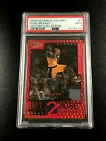 KOBE BRYANT 2000 UPPER DECK ULTIMATE #61 VICTORY COLLECTION RED FOIL /350 PSA 9