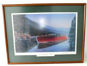 CHRIS CRAFT - RUNABOUT 1940 -  LIMITED EDITION PRINT