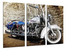 Carreau Moderne Moto Harley Davidson, Moto Vintage, Réf. 26494
