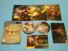 GOD OF WAR II 2 Special Limited Edition Carboard BONUS disc   game PS2 PAL *VGC