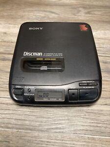 Sony Discman D-34 Walkman Portable Personal CD Music Player w/ Mega Bass