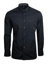 Eterna Herren Hemd Langarm Modern Fit Business Hemden 3070/38/X143 Grau L/41