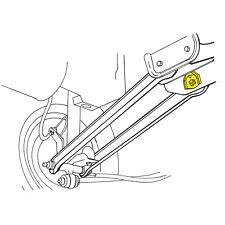 Suspension Control Arm Bushing fits 1986-2005 Mercury Sable  MOOG
