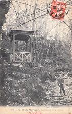 MERVENT 138 forêt la chaire de la grotte éd guiller timbrée