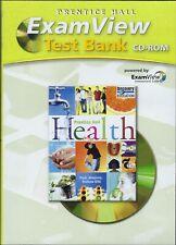 "Prentice Hall Health ""Exam View Test Bank"" CD ROM"