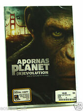 Rise of the Planet of the Apes DVD + Digital Copy Region 2 NEW SEALED