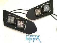 POLARIS RANGER 900 XP  - UPGRADE TO LED CUBE HEADLIGHTS KIT fit 2013-2018 CREW
