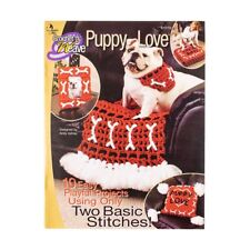 Puppy Love Crochet Crafting Book for Braided Macramé Dog Projects