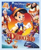 Disney Pinocchio and Friends Cotton Quilting Fabric Panel