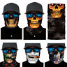 Joker Skull Motorcycle Biker Neck Tube Scarf Snood Face Mask Warmer Balaclava