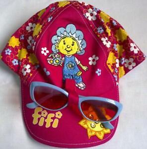 Girls Fifi Cap / Hat & Sunglasses Holder - Age 2-4 Years - Ladybird