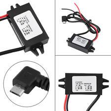 DC12V to DC5V Micro USB Voltage Converter Power Step-Down Voltage Transformer