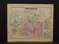 Vermont, Addison County Map, 1871, Leicester Township, Y4#97