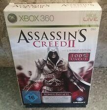 """Xbox 360"""" Assasins Creed II, lineage-Edition"""", firmada, artículo de colección"""