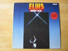 Elvis Presley LP,  Moody Blue, , RCA # PL 12428, Orange Label, Made in Germany