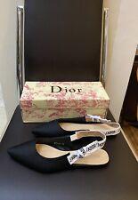 SALE! Christian Dior J'adior Slingback Flats