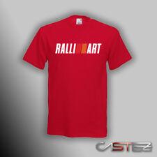 Camiseta coche rally racing drift ralliart ralli art mitsubishi (ENVIO 24/48h)