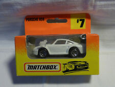Matchbox-MB 7 Porsche 959 blanco-Embalaje original -