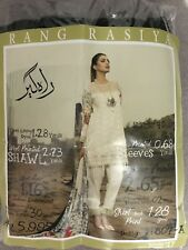 New Original Rang Rasiya Winter Embroidered Suit Pashmina Shawl