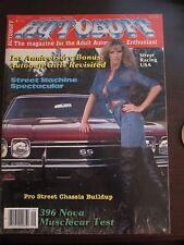 Autobuff Magazine September 1983 396 Nova Musclecar Test (S) AJ