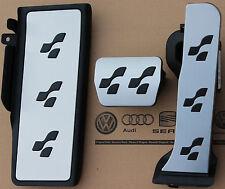 VW Passat 3c b6 b7 cc original r36 pedalset r-line pedales pedal tapas apoyapies