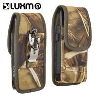 CAMO BELT CLIP CELL PHONE POUCH HOLSTER CASE FOR LG, IPHONES, MOTOROLA, SAMSUNG
