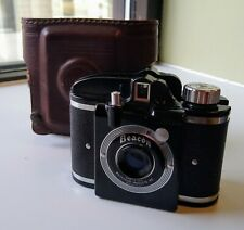 Beacon I Whitehouse Products 127 Film Camera with Original Leather Case