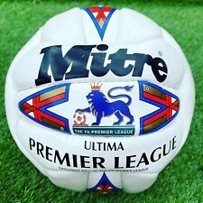 1990s MITRE ULTIMA PREMIER LEAGUE FOOTBALL - SIZE 5 - (NOT ULTIMAX)