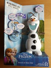 New Disney Frozen Olaf Stretch & Slide Toy with 10+ Sounds and Phrases - Ages 3+