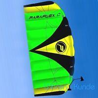 ||| PARAFLEX SPORT 1.7 GRÜN ||| Kite Lenkdrachen Lenkmatte Wolkenstürmer Safety