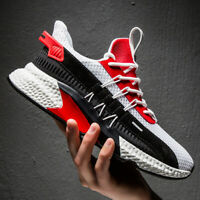 Mens Casual Athletic Sneakers Outdoor All-match Sports Walking Mesh Breathable