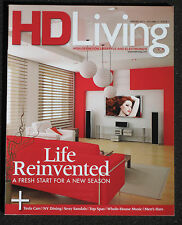 HD LIVING MAGAZINE - SPRING 2011 - VOLUME 5 ISSUE 1 - TESLA CARS - TOP SPAS