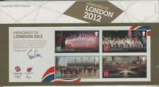MEMORIES OF LONDON OLYMPIC GAMES 2012  PRESENTATION PACK STAMPS FREE P&P