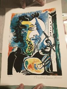 pablo picasso The Artist Giclee Art