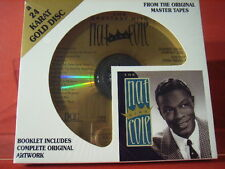 "DCC GZS-1127 NAT KING COLE "" THE GREATEST HITS ""(24 KT GOLD COMPACT DISC/SEALED)"
