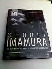 "DVD ""SHOEI IMAMURA PACK"" 3DVD DIGIPACK FILMOETCA FNAC THE INSECT WOMAN INTENTION"